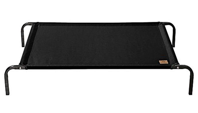 """**Charlie's Pet Cot Bed in black, from $54.95, [Zanui](https://www.zanui.com.au/Pet-Cot-Bed-181822.html