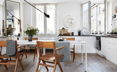A timeless apartment with a tonal Parisian palette