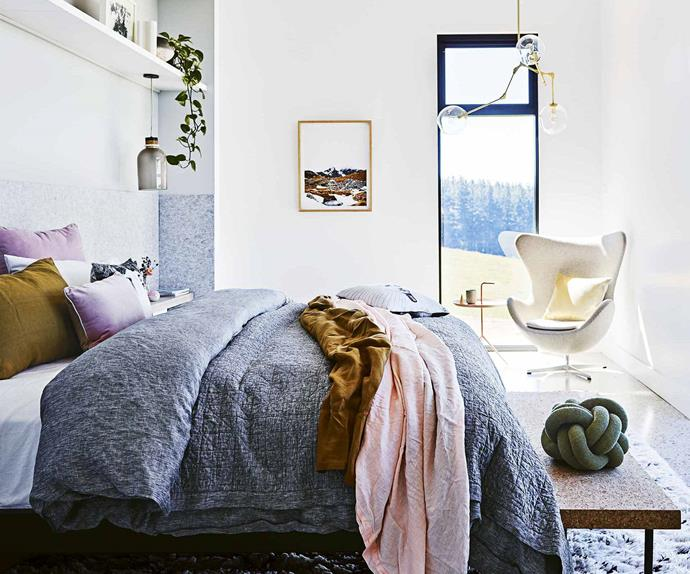 Styled bedroom