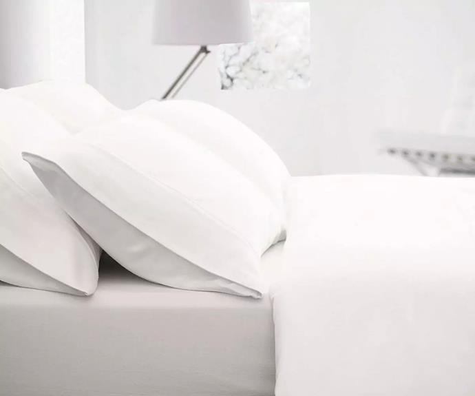 "**Sheridan outlet flannelette sheet set in snow, starting from $99, from [Sheridan Outlet](https://www.sheridanoutlet.com.au/sheridan-outlet-flannelette-sheet-set-o100-b130-c242-003-snow.html|target=""_blank""