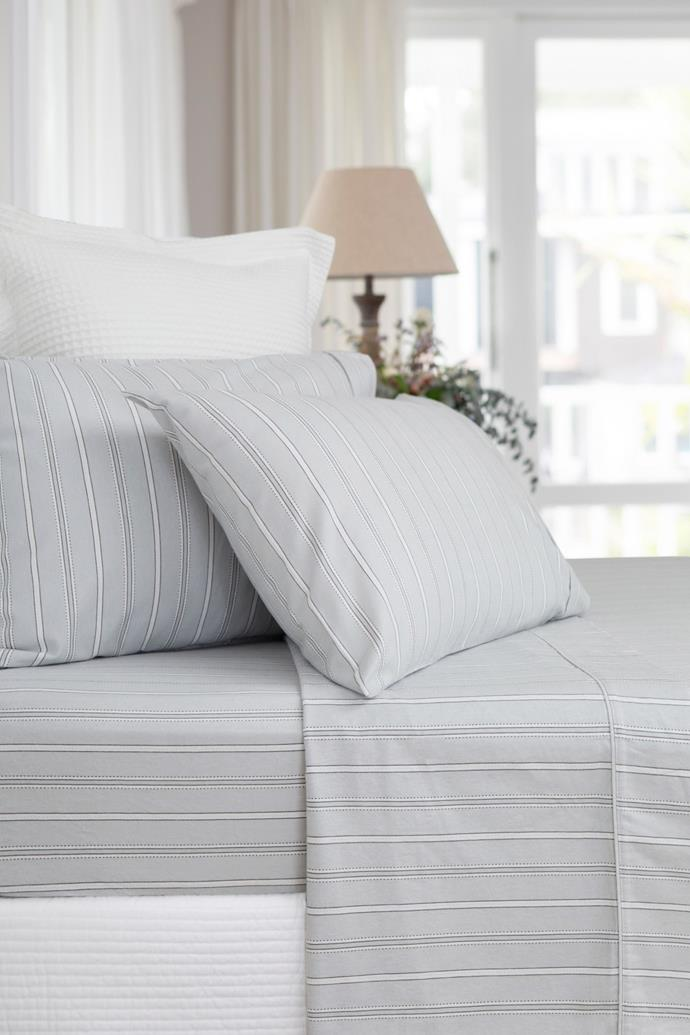 "**Flannel sheet set in 'Glacier Grey', starting from $99.99, from [Wallace Cotton](https://www.wallacecotton.com/au/glacier-grey-flannel-sheet-set-8456-grey|target=""_blank""