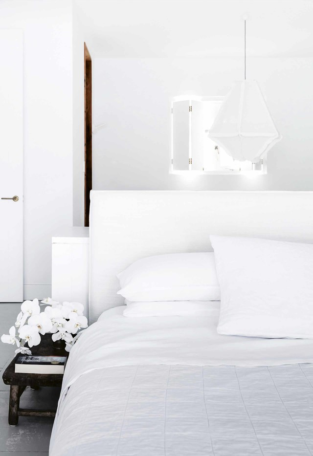 """**Treat yourself to new bedsheets** <br></br> You don't need power tools to update the look and feel of your bedroom. [Investing in a quality set of bed sheets](https://www.homestolove.com.au/how-to-guarantee-you-are-buying-quality-bedlinen-4373
