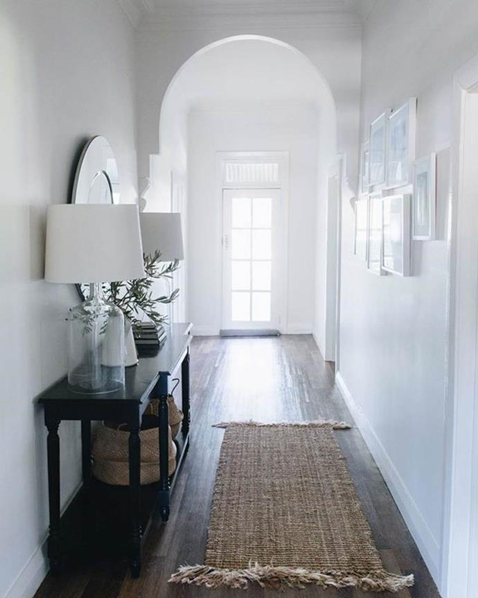 """Within this renovated [1920s family farmhouse](https://www.homestolove.com.au/white-relaxed-family-farmhouse-nsw-18947