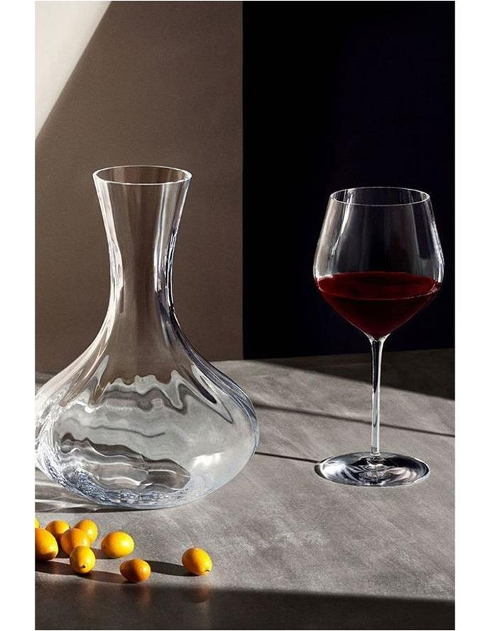 """A set of **wine glasses**. Do we really need to explain this? <br> <br> Waterford Elegance Optic Big Red Pair of Wine Glasses, $149, [Myer](https://www.myer.com.au/p/elegance-optic-big-red-pair-543268450