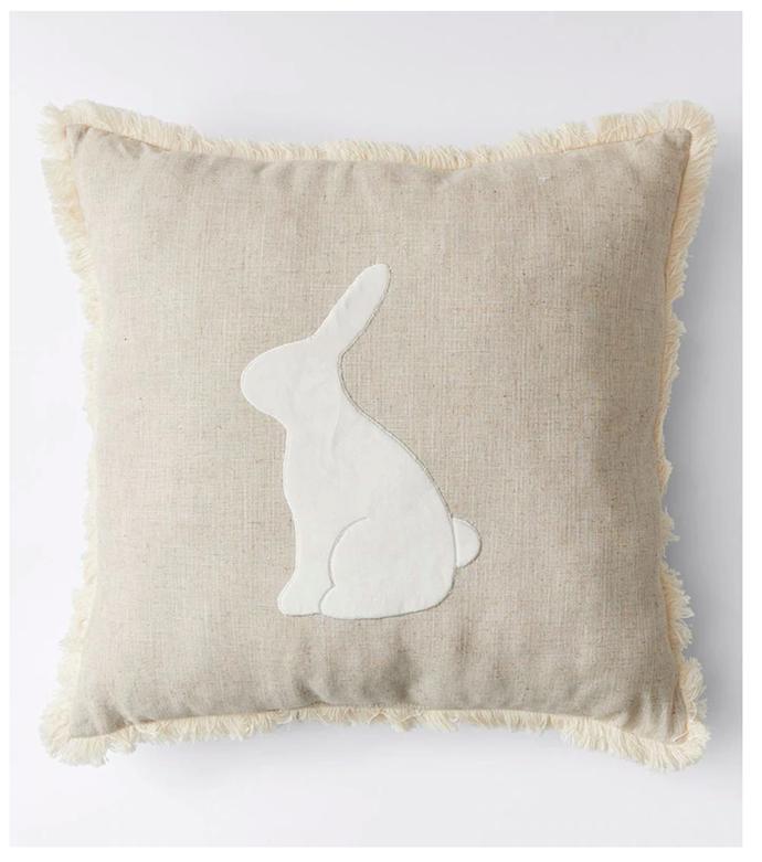 "Easter Cushion, $15, [Kmart](https://www.target.com.au/p/easter-cushion/64584775|target=""_blank""|rel=""nofollow"")."