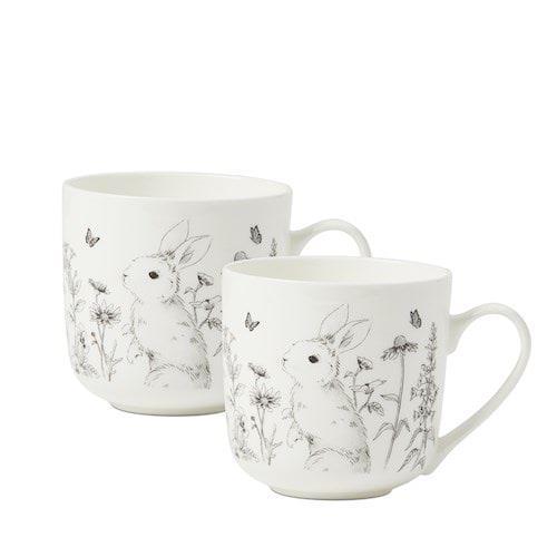 "Fleur Harris Rabbit Daisy Field Mug 2 Pack, $24.99, [Adairs](https://www.adairs.com.au/homewares/tableware/home-republic/fleur-harris-rabbit-daisy-field-mug-2-pack/|target=""_blank""|rel=""nofollow"")."