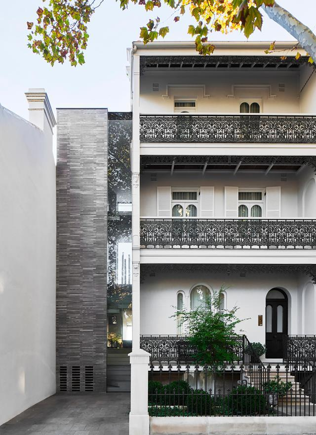 """A contemporary tower and dramatic extension by William Smart of Smart Design Studio have brought a thrilling new dimension to a gracious [historic terrace](https://www.homestolove.com.au/victorian-terrace-ultra-contemporary-update-21789