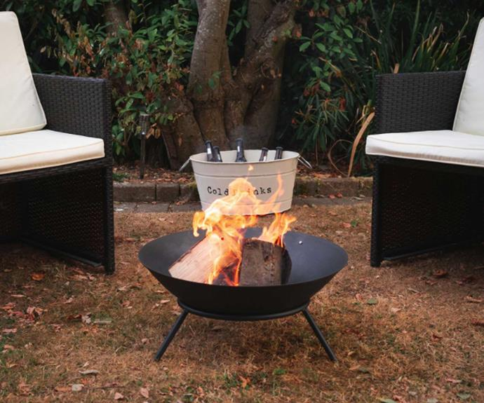 """**[Cast iron fire pit by Harbour Housewares, $62.95 (56cm diameter), Catch.com.au](https://www.catch.com.au/product/harbour-housewares-cast-iron-fire-pit-outdoor-garden-patio-heater-camping-bowl-for-wood-charcoal-with-stand-56cm-diameter-6650488