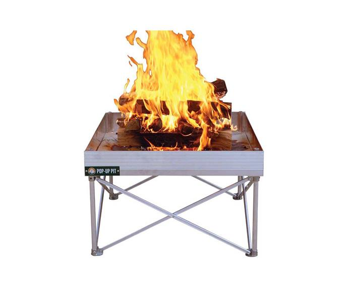 """**[Fireside portable popup fire pit, $99.99, BCF](https://www.bcf.com.au/p/fireside-portable-popup-fire-pit/589727.html