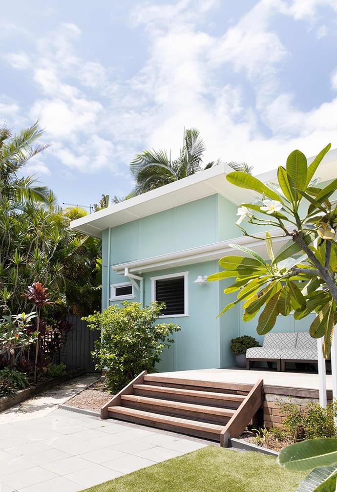 """Seasoned renovator Shelley Craft has also tackled the [renovation of a fibro beach shack in Byron Bay](https://www.homestolove.com.au/shelley-craft-beach-shack-renovation-21718