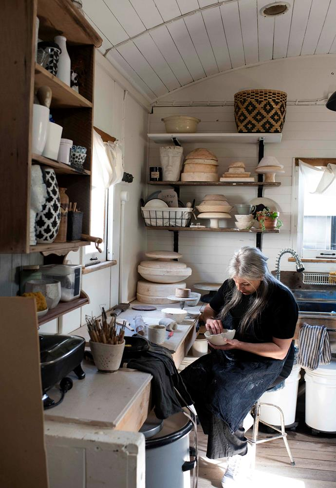"""""""One of the biggest gifts throughout this clay journey is the happiness I feel when customers express their joy and excitement,"""" says Lydia. """"As most of my works are functional, handmade pieces, I hope to bring that unique character and specialness to others in their everyday lives."""""""