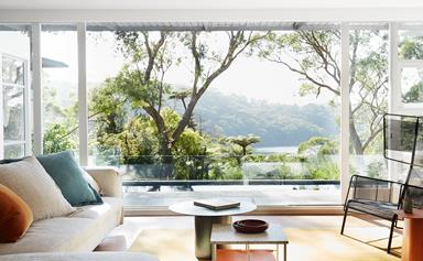 An understated mid-century modern family home in a bushland setting