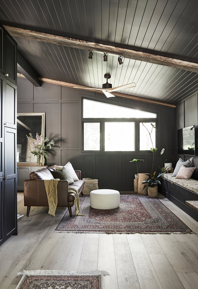 """Saul has turned to the [dark side](https://www.homestolove.com.au/dark-interior-design-20573