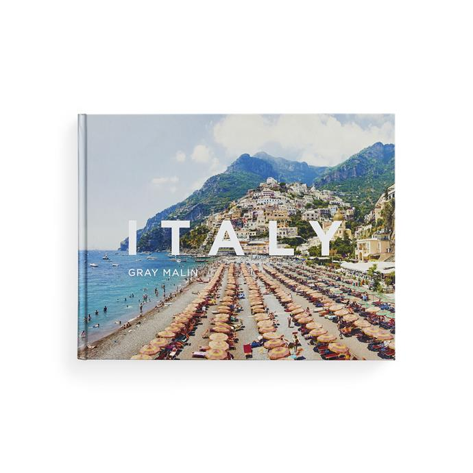"""**Gray Malin: Italy**, $43.75, [Booktopia](https://www.booktopia.com.au/gray-malin-gray-malin/book/9781419735974.html