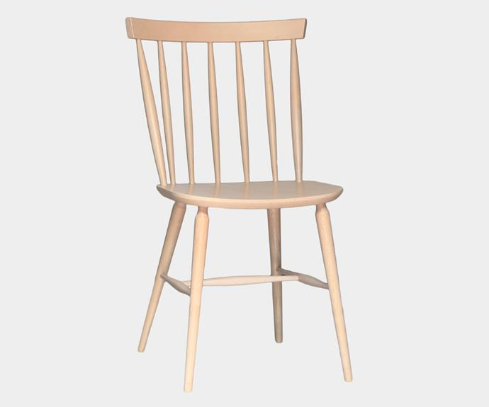 "Stol chair in Natural Wash Finish, $348, [Thonet](https://thonet.com.au/|target=""_blank""