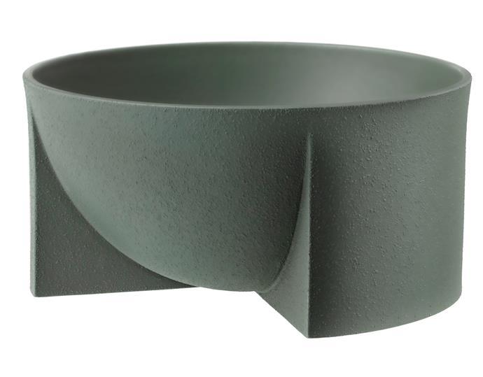 "Iittala 'Kuru' bowl in Moss Green, $109, [Top3 By Design](https://top3.com.au/|target=""_blank""|rel=""nofollow"")."