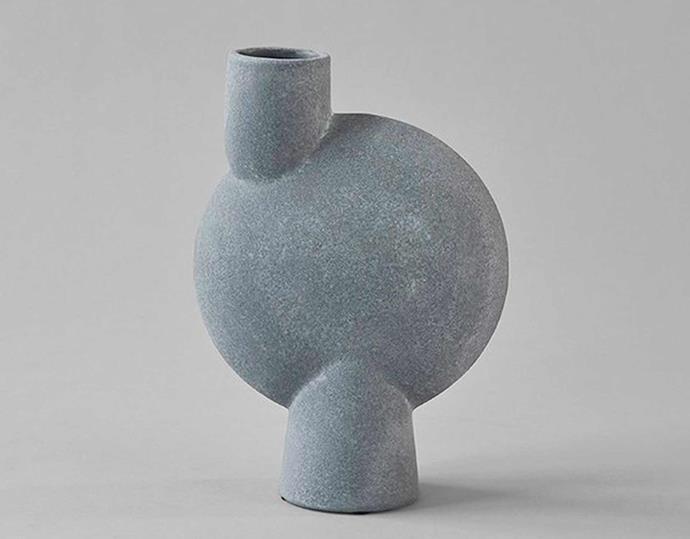 "101 Copenhagen 'Sphere Bubl' vase, $99, [Black Blaze](https://www.blackblaze.com.au/|target=""_blank""|rel=""nofollow"")."