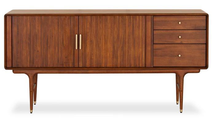 "Manhattan sideboard, $1399, [Lounge Lovers](https://www.loungelovers.com.au/|target=""_blank""|rel=""nofollow"")."