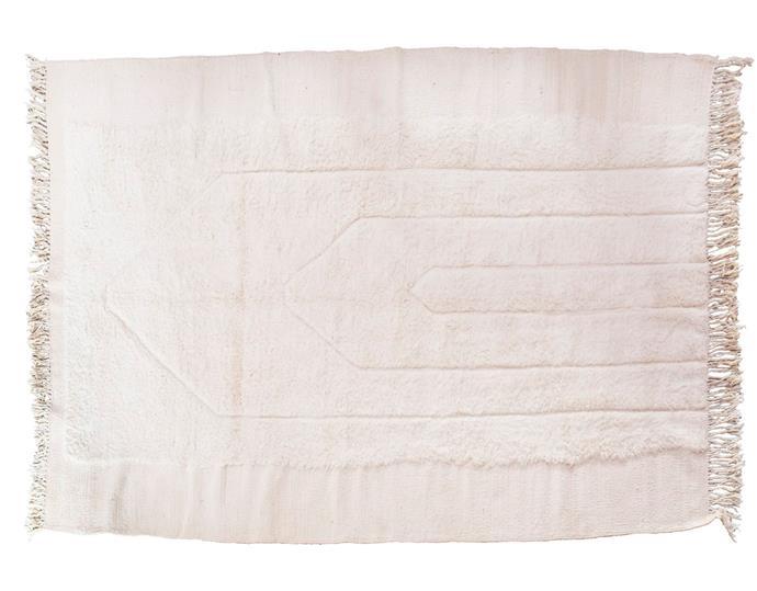 "Canopee Boujad wool rug, $4350, [Tigmi Trading](https://tigmitrading.com/|target=""_blank""|rel=""nofollow"")."