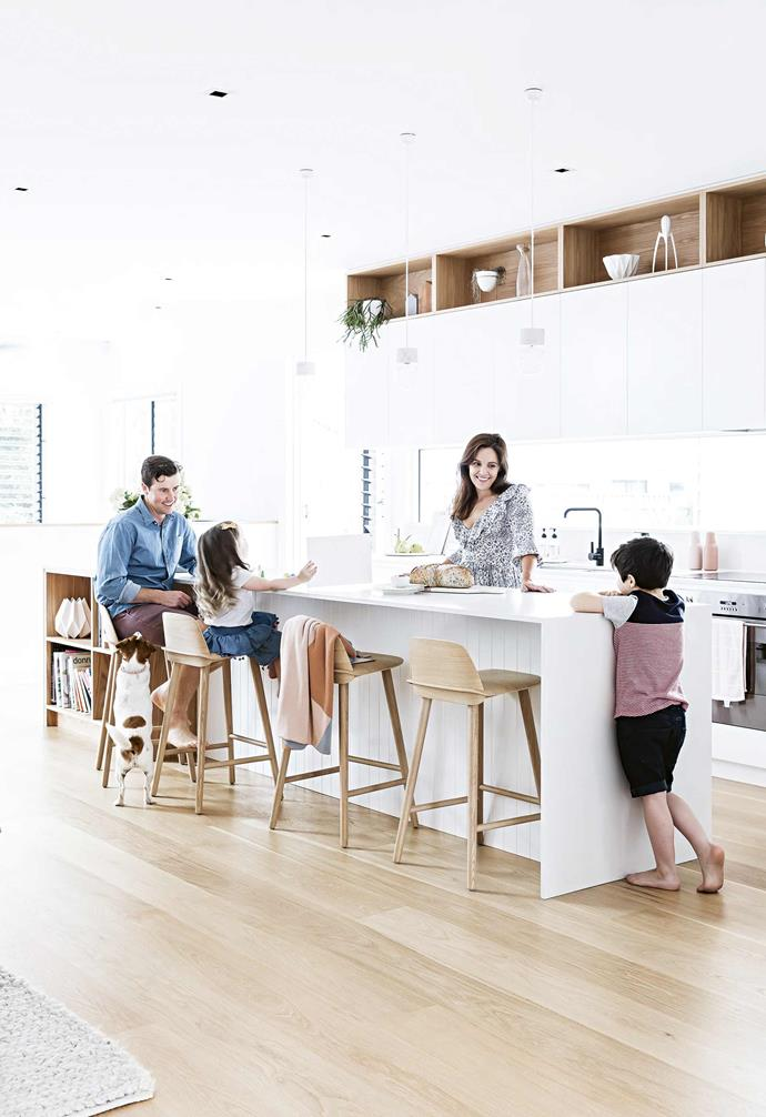 """The [kitchen](https://www.homestolove.com.au/kitchen-trends-2021-21967