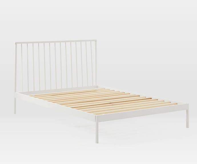 """**[Durham bed, $339.95, West Elm](https://www.westelm.com.au/durham-bed-h4518
