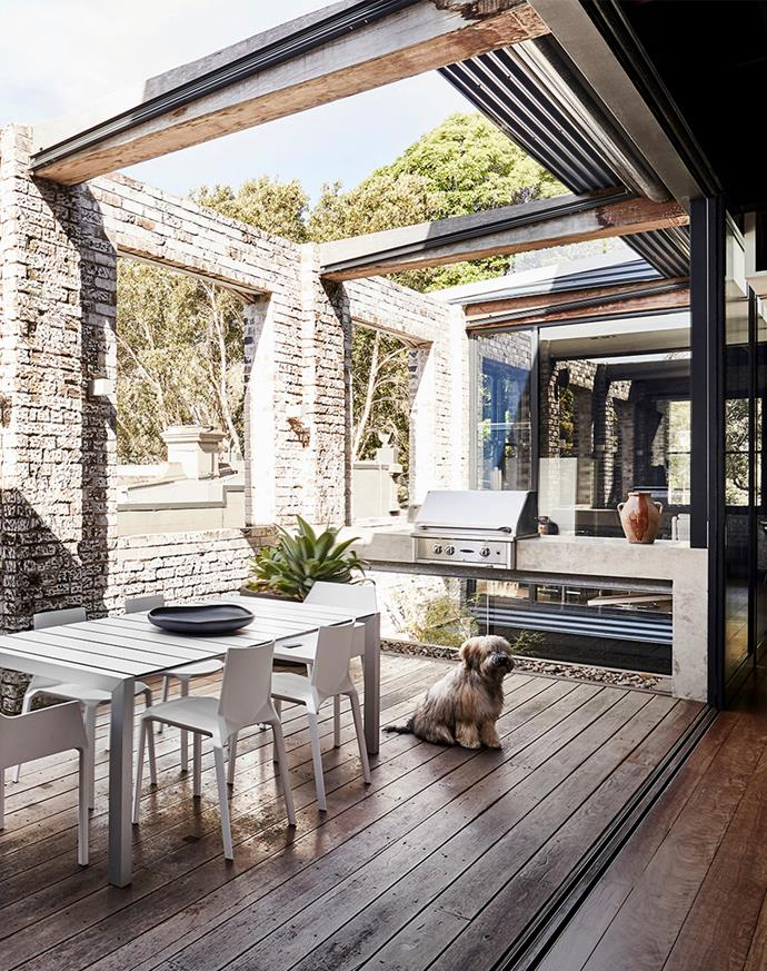"Natural light and an industrial flavour flow through this [Sydney warehouse conversion](https://www.homestolove.com.au/modern-warehouse-conversion-chippendale-22404|target=""_blank""), a place of work, rest and play for its lucky owners Suzi and PJ. The couple engaged the late architect Jaime Kleinert to design a three-level contemporary residence for themselves and their dog, a soft-coated wheaten terrier named Kona."