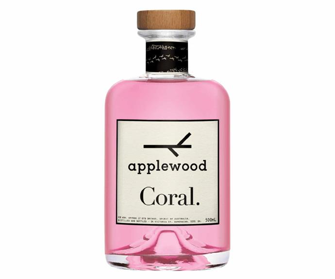 """**Applewood Coral Gin, $70, [Applewood Distillery](https://www.applewooddistillery.com.au/products/coral-gin