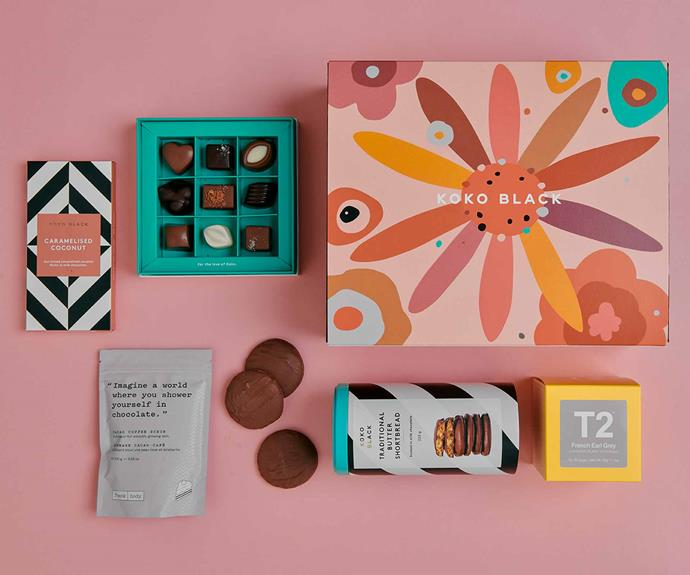 """**Koko Black Mother's Day Gift Pack, $99, [Koko Black](https://www.kokoblack.com/products/mothers-day-gift-pack-medium