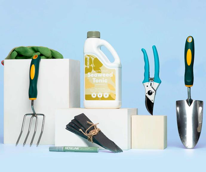 """**Vegie Patch Gardener's Tool Pack, $89, from [Hoselink](https://www.hoselink.com.au/products/veggie-patch-gardener-tool-pack?variant=32330066526304