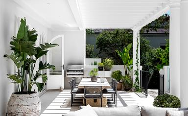 A newly built home with classic appeal in Sydney's eastern suburbs
