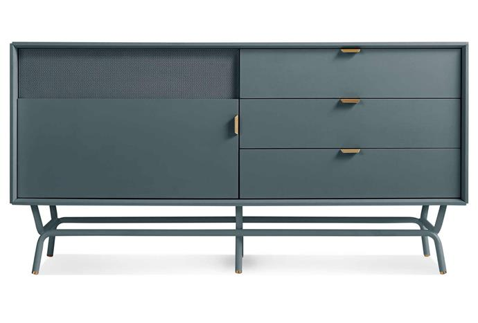 """**Dang 1 Door / 3 Drawer Console, $2999, [Blu Dot](https://www.bludot.com.au/dang-1-door-3-drawer-console.html