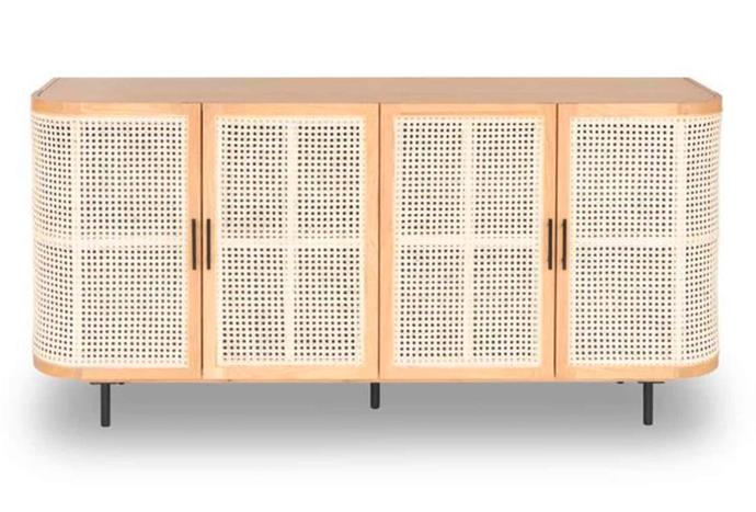 """**Embrace Rattan Sideboard 180cm in Natural, $1999, [RJ Living](https://www.rjliving.com.au/buy-embrace-rattan-sideboard-natural.html