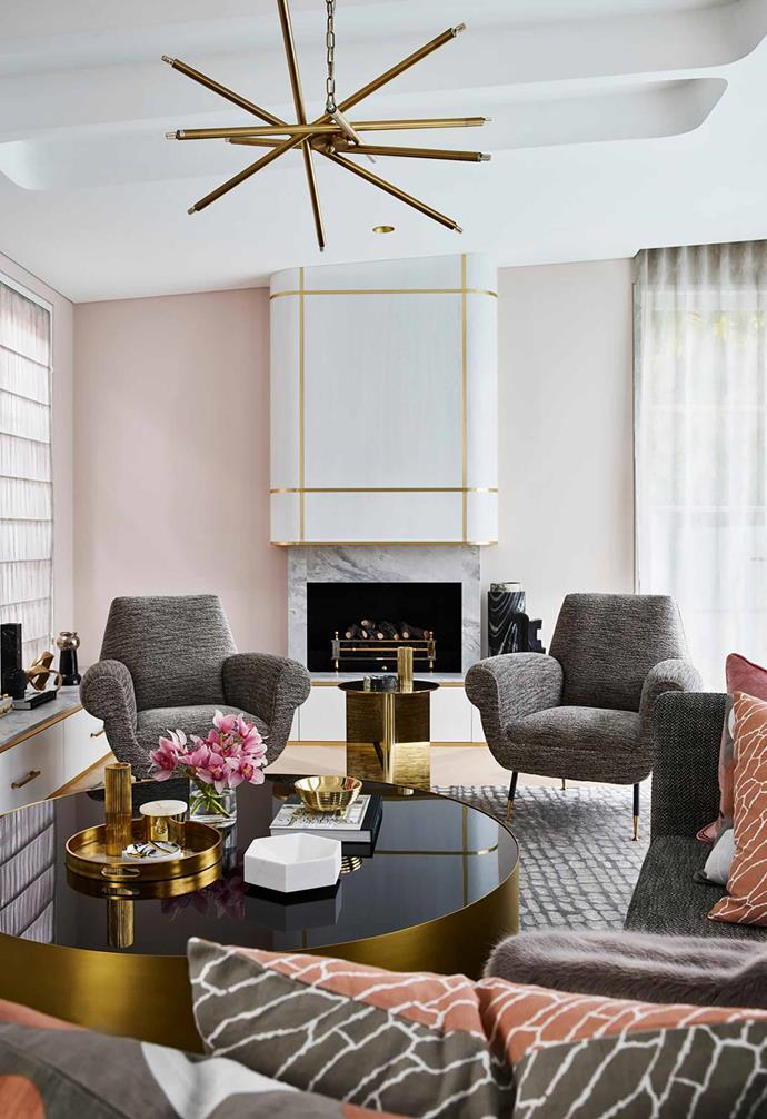 """A playful use of colour and patterns reign supreme in this [sophisticated yet youthful Art Deco style home](https://www.homestolove.com.au/sophisticated-yet-youthful-art-deco-home-21152