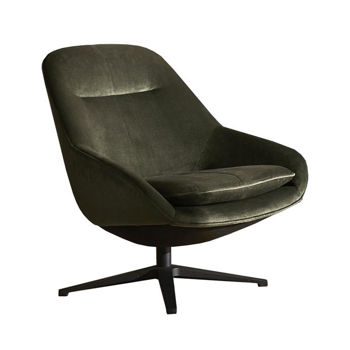 """**[Life Interiors 'Diego' velvet swivel armchair, $1499, Zanui](https://www.zanui.com.au/Diego-Velvet-Swivel-Armchair-175370.html