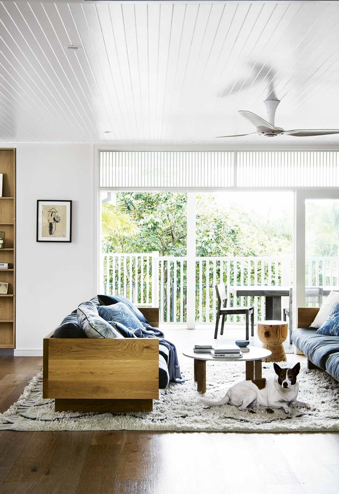 """When it came to [renovating this weatherboard cottage](https://www.homestolove.com.au/eco-friendly-weatherboard-house-freshwater-17440