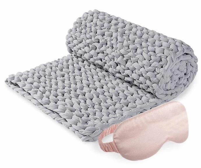 """**Beauty Sleep Bundle, from $299, [Calming Blanket](https://www.calmingblankets.com.au/products/beauty-sleep-bundle