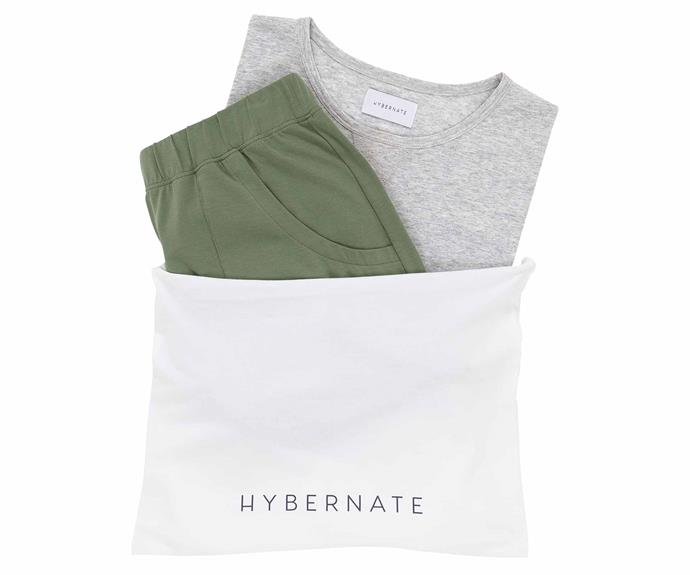 """**Classic PJ Set, $188, [Hybernate](https://hybernate.com/collections/sets/products/classic-pj-set