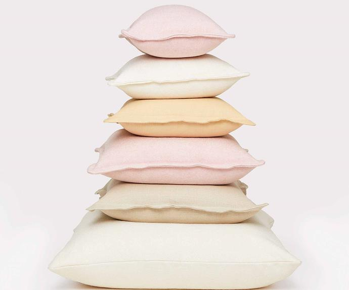 """**Custom cushion, from $69, [Hommey](https://go.linkby.com/FDBUWDGO