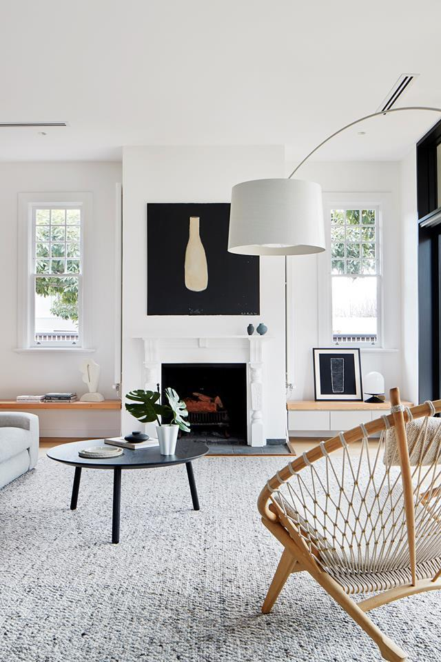 """When the owners purchased this [Edwardian home](https://www.homestolove.com.au/subdivided-edwardian-house-receives-modern-update-20308