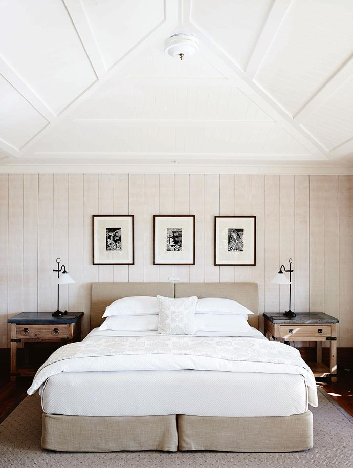 Every night a note about the next day's weather is left on the pillow.  New Zealand interior designer Virginia Fisher — who has since gone on to work her magic at the family's other properties, The Farm at Cape Kidnappers at Hawke's Bay and Queenstown's Matakauri Lodge — was responsible for interiors.