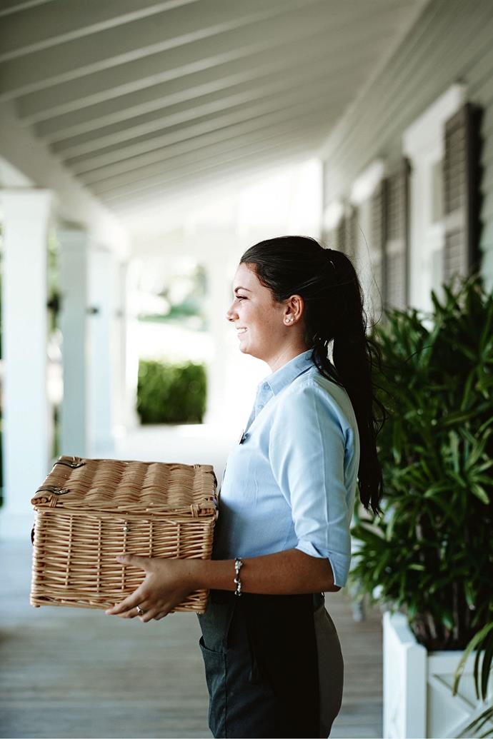 """Staff will make up [gourmet picnic baskets](https://www.homestolove.com.au/picnic-blankets-baskets-australia-21777