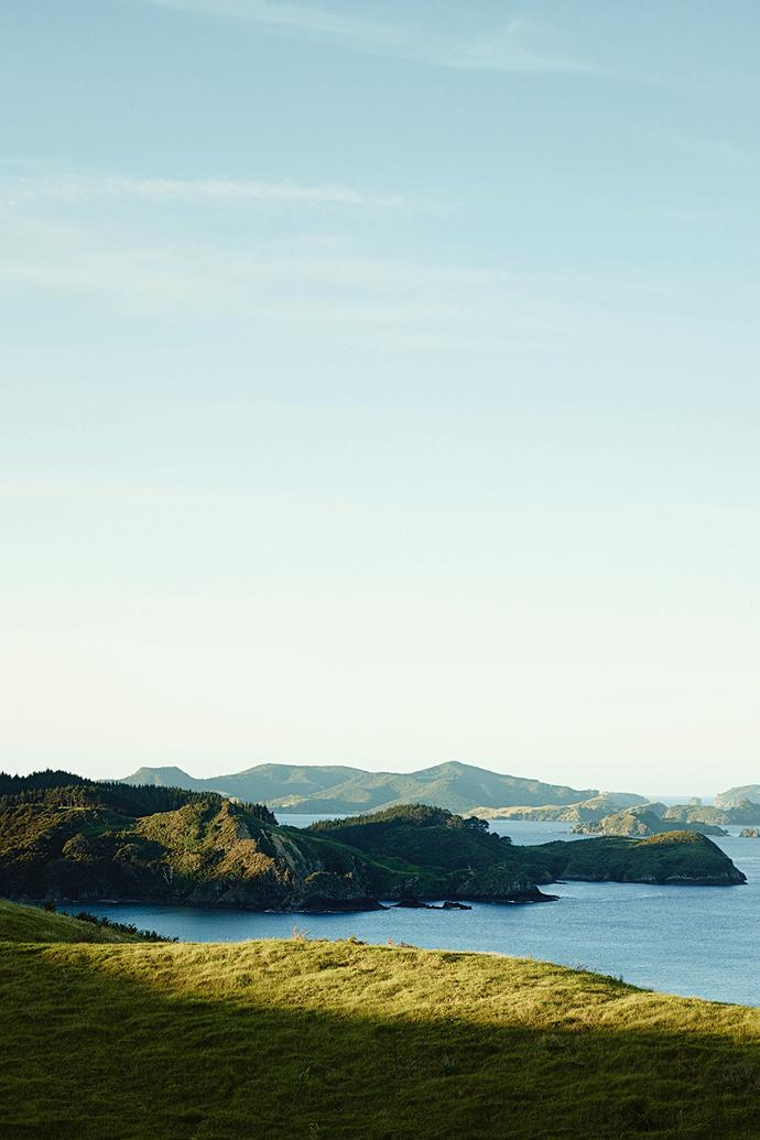 The Cavalli Islands, a group of islands near Whangaroa. In 1987, the Rainbow Warrior was scuttled in the area and is now a popular dive site.