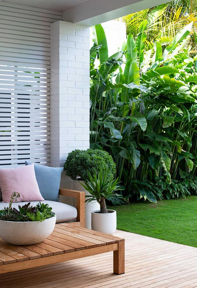 """This all-weather space is a hit with the owners. Pots, [Bunnings](https://www.bunnings.com.au/