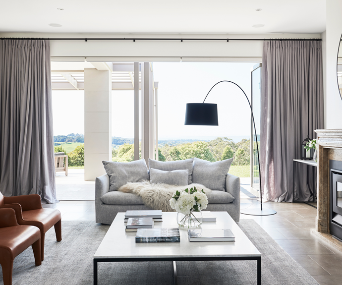 """Opening directly to the expansive covered [alfresco area](https://www.homestolove.com.au/outdoor-entertaining-areas-2741