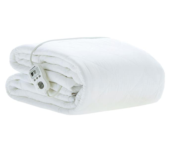 """**[Linen House multi zone quilted electric blanket, $199 (Double), Temple & Webster](https://www.templeandwebster.com.au/Multizone-Quilted-Electric-Blanket-0122-LNHO2251.html