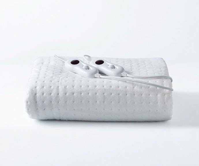 """[**Fitted electric blanket, $35 (King single), Target**](https://www.target.com.au/p/fitted-electric-blanket/64392820