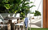 A resort-style garden in Sydney where privacy is key
