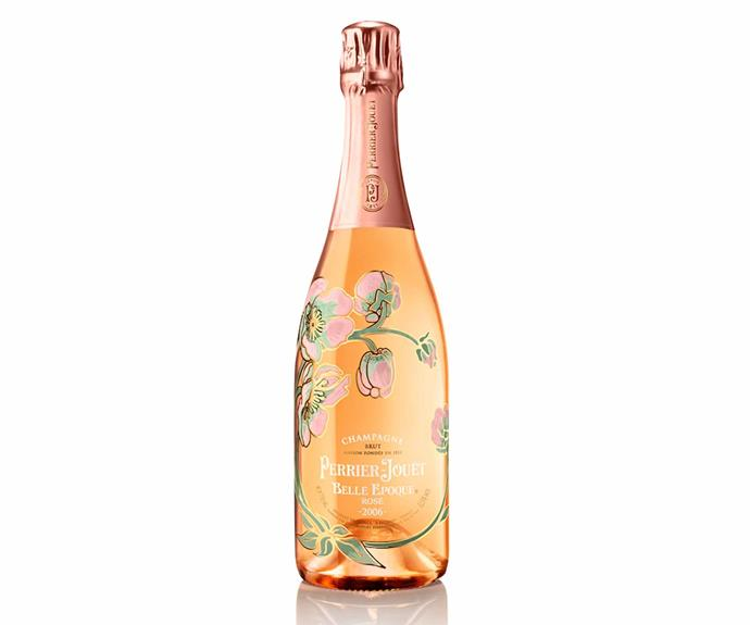 """**Perrier-Jouët Belle Époque Rosé Vintage, $349, [Dan Murphy's](https://www.danmurphys.com.au/product/DM_911707/perrier-jou-t-belle-poque-ros-vintage