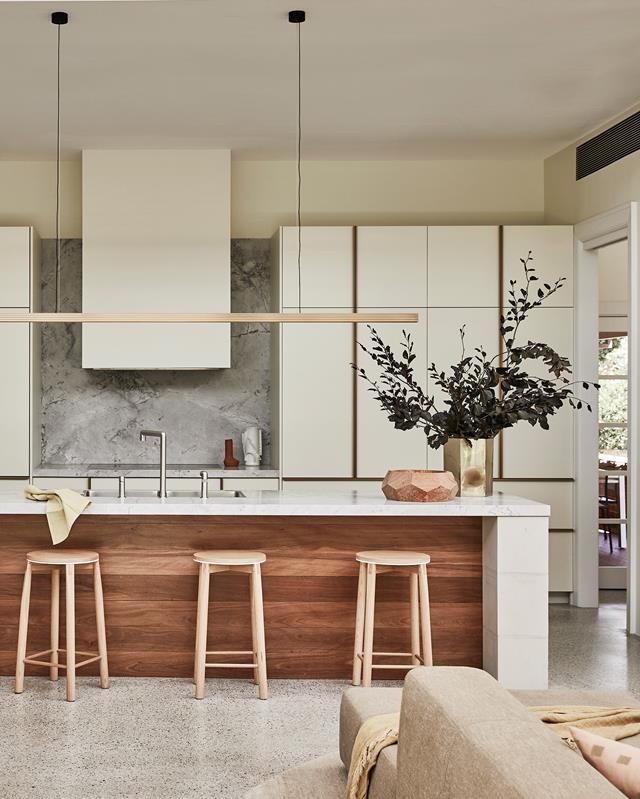 """Rescued from disrepair, this [Federation home](https://www.homestolove.com.au/renovated-federation-house-balances-old-and-new-21148