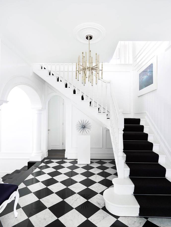 """The interiors of this [luxurious home](https://www.homestolove.com.au/gallery-emma-and-tonis-luxurious-regency-style-home-2311